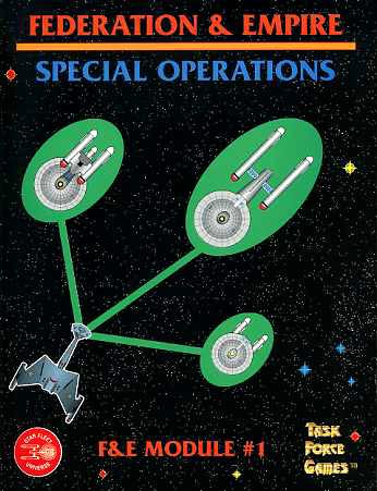 Details about STAR TREK FEDERATION & EMPIRE SPECIAL OPERATIONS MODULE