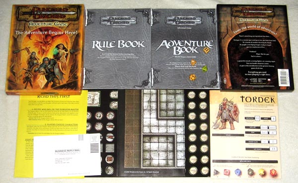 d&d adventure game