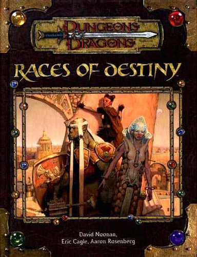 d&d book of races