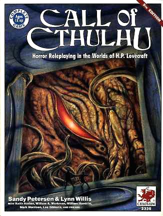 for sale is the sourcebook call of cthulhu horror roleplaying in the